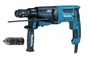 Перфоратор MAKITA HR2631FT (800Вт,SDS-Plus,2.7Дж,3реж,0-1200об/м,AVT,свет,кейс) **